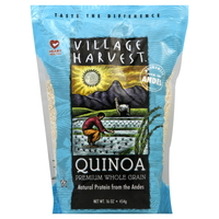 quinoa, village harvest, calories, recipes